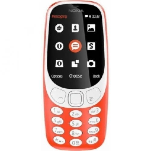NOKIA   3310 WarmRed